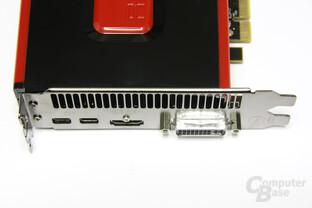 Radeon HD 7970 Anschlüsse