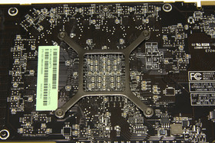 Radeon HD 7970 GPU-Rückseite
