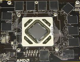 Radeon HD 7970 GPU und Speicher