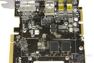 Radeon HD 7970 GPU und Speicher Bauteile