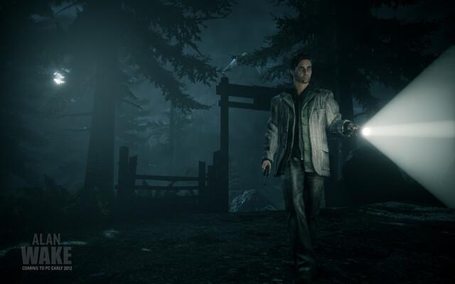 """Erster Screenshot aus """"Alan Wake"""" für den PC"""