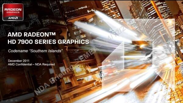 Präsentation zur AMD Radeon HD 7970
