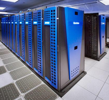 """Supercomputer """"Gordon"""" im SDSC"""
