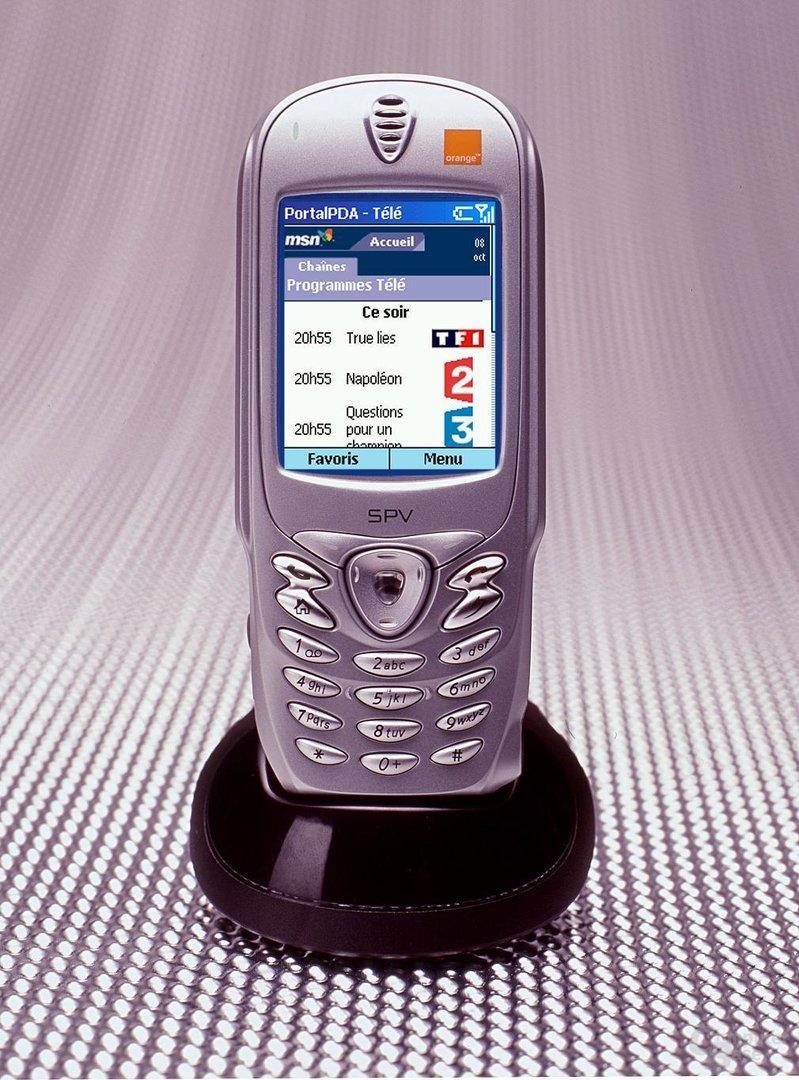 SPV Poctet Internet Explorer Site MSN Smartphone programmes T
