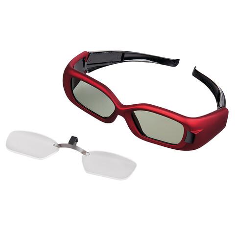 Optischer Clip für 3D-Shutterbrillen