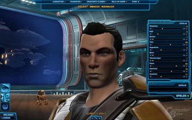 SWTor – Charaktererstellung
