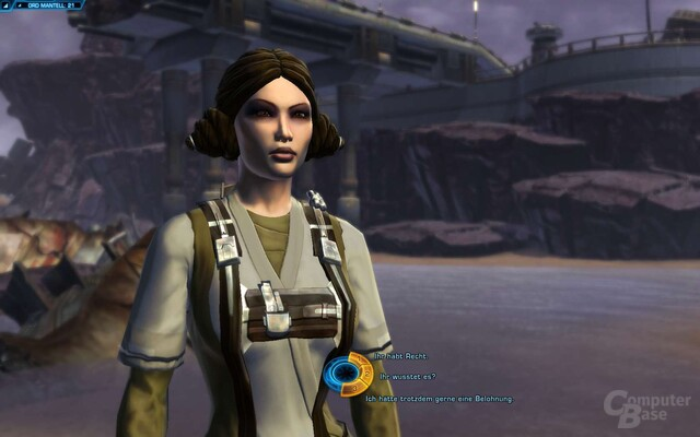 Dialog in SWTor