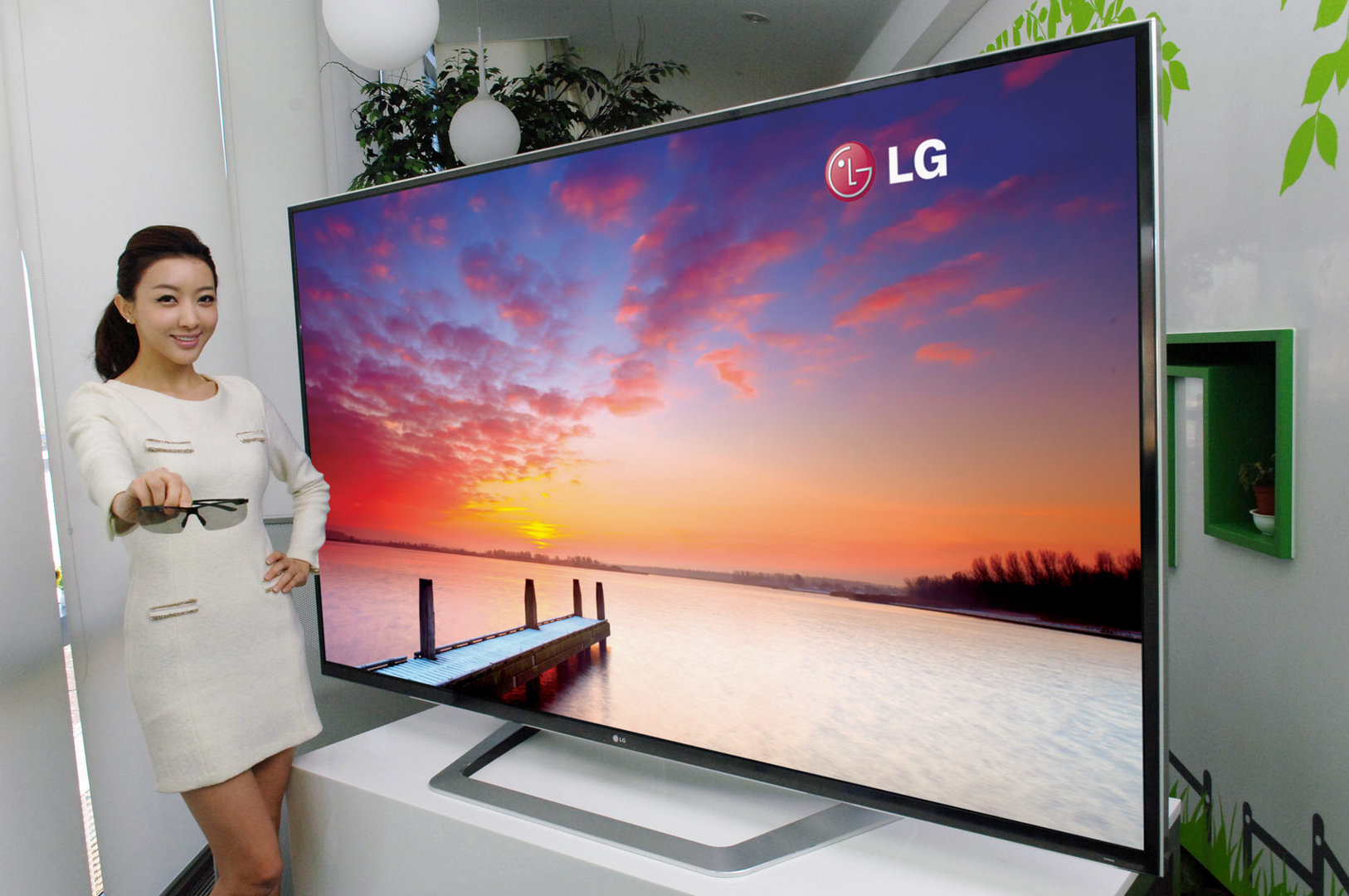 84 Zoll Ultra Definition 3D-TV von LG