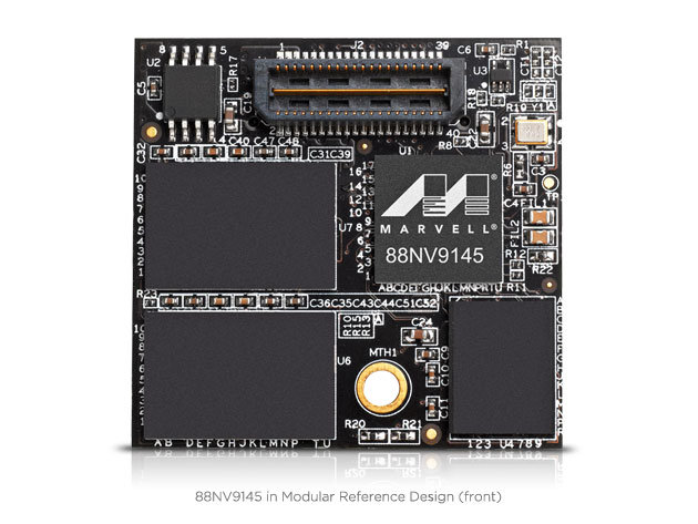 Marvell 88NV9145 – Modulares Referenzdesign mit 32 GB SLC-NAND