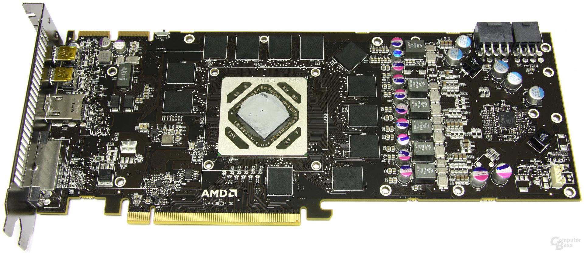 Radeon HD 7970 ohne Lüfter