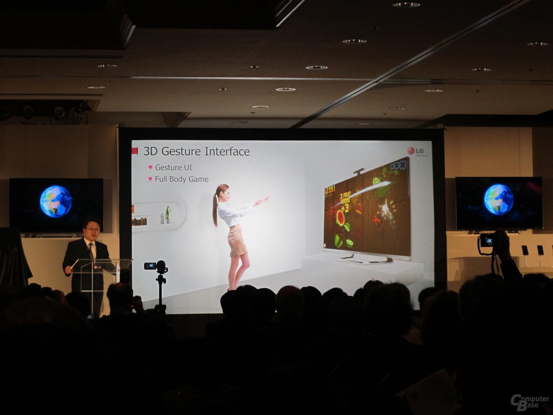 LG: 3D-Gestensteuerung