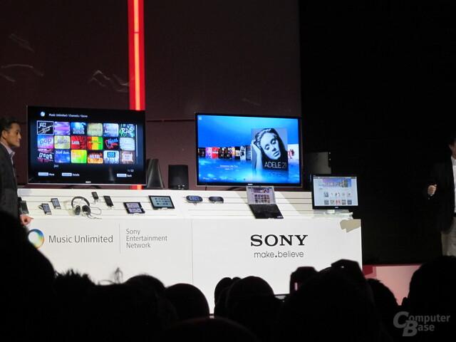 Sony: Vernetzung (fast) aller Geräte