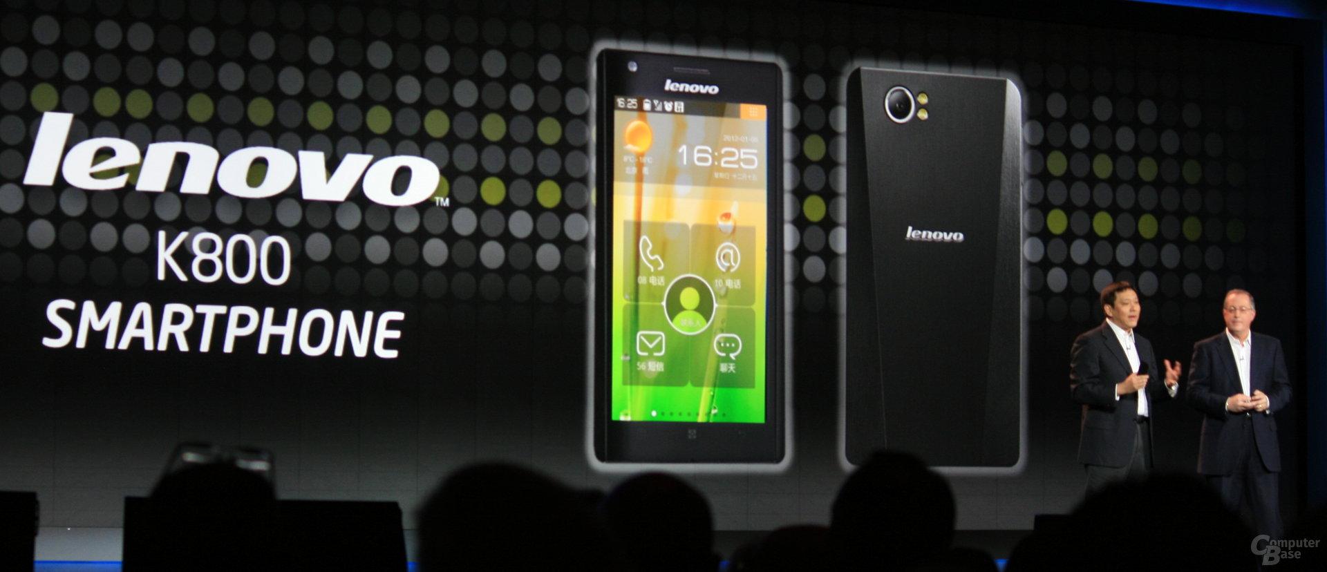 Erses Medfield-Smartphone von Leovo