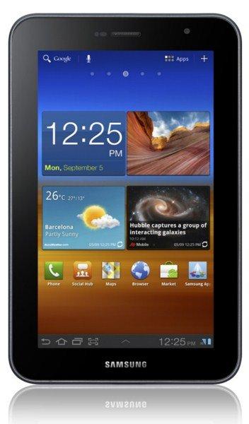 Abweichende internationale Version des Galaxy Tab 7.0 Plus