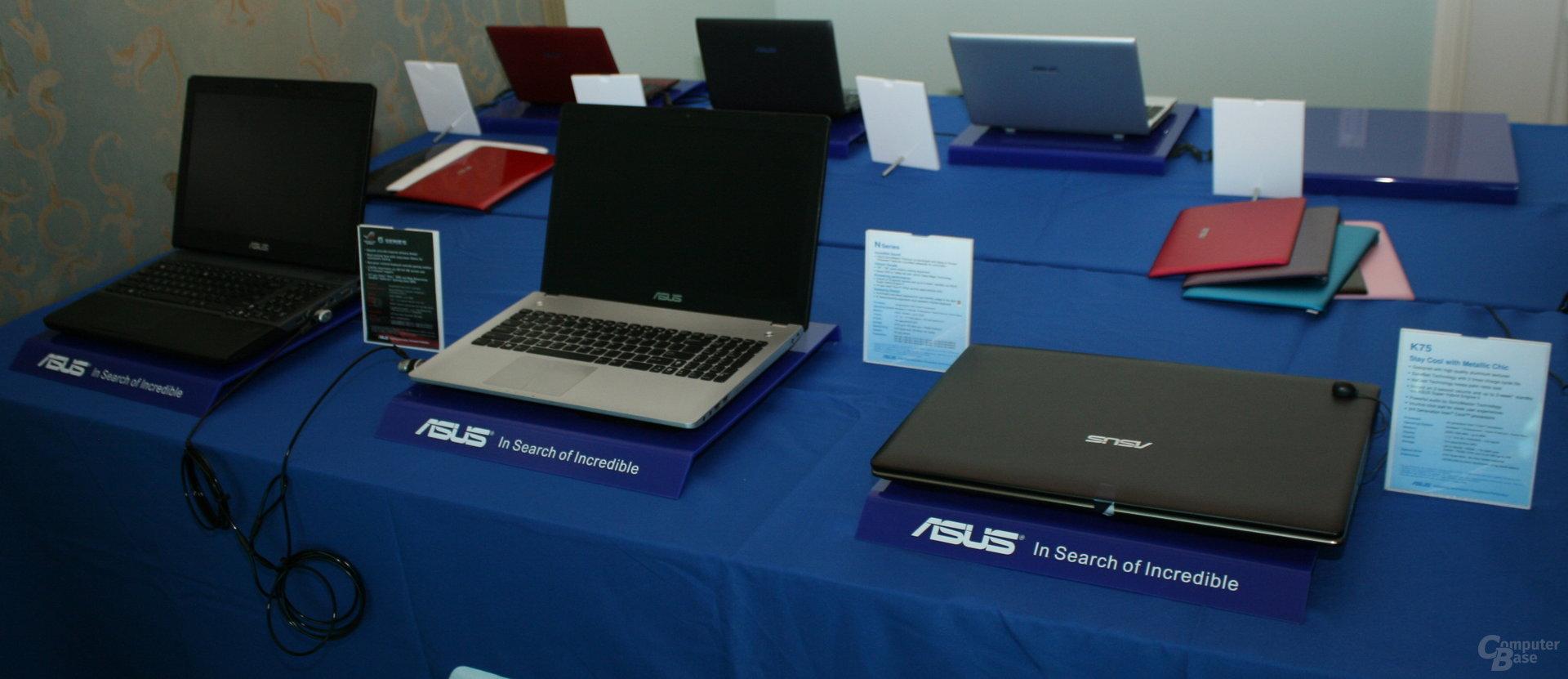"Asus' ""Ivy Bridge""-Notebooks mit Nvidias ""Kepler"""