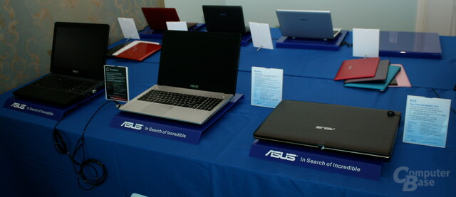 "Asus' ""Ivy Bridge""-Notebooks mit Nvidias ""Kepler"""