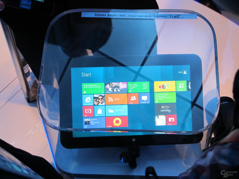 Windows 8 auf Clover-Trail-Plattform