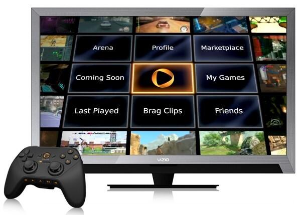Werbung für den Streaming-Dienst Onlive: Bald bei jedermann im Wohnzimmer? Inhalte werden nur noch gestreamt