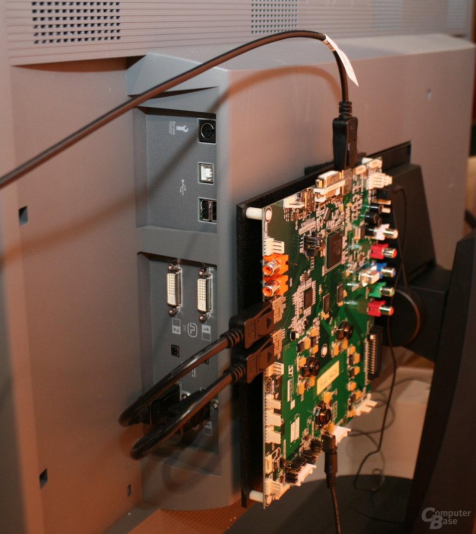 DisplayPort 1.2 mit 4K-Auflösung