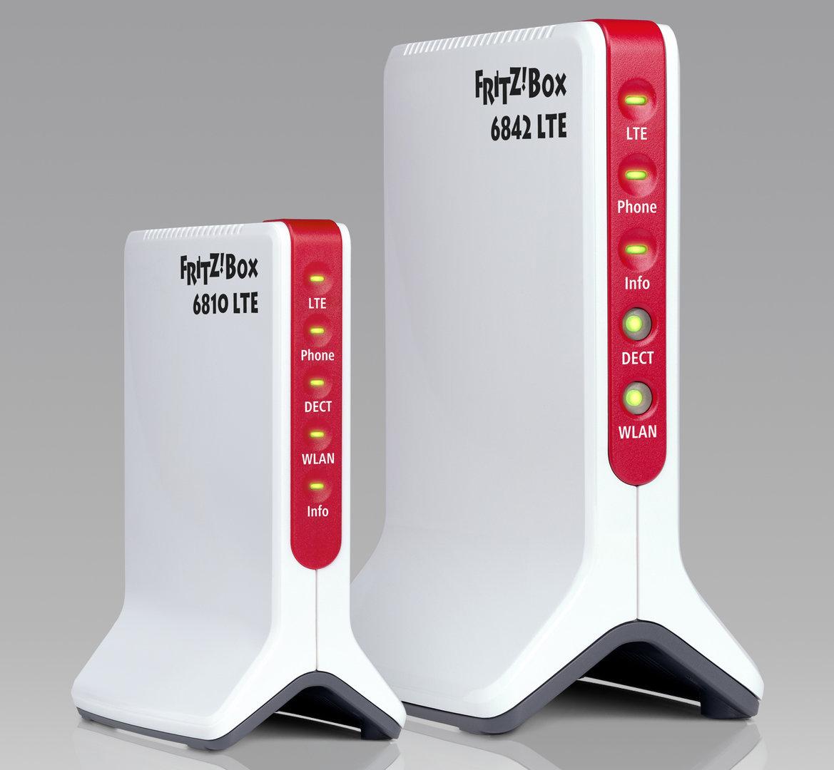 AVM Fritz!Box 6842 und 6810 LTE