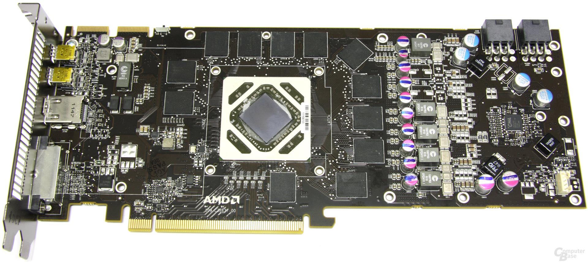 Radeon HD 7950 ohne Kühler