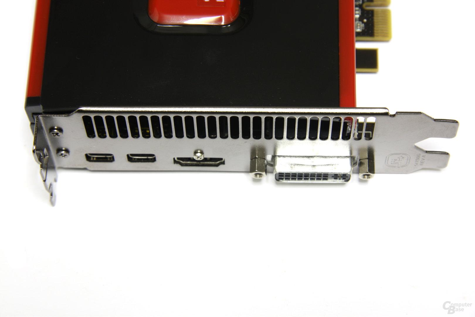 Radeon HD 7950 Anschlüsse