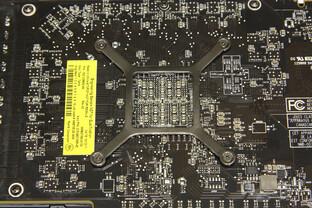 Radeon HD 7950 GPU-Rückseite