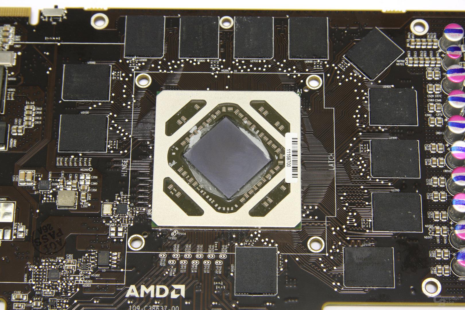 Radeon HD 7950 GPU und Speicher