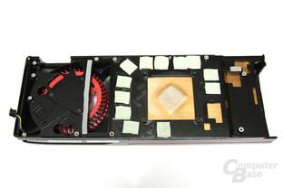 Radeon HD 7950 Kühlerrückseite