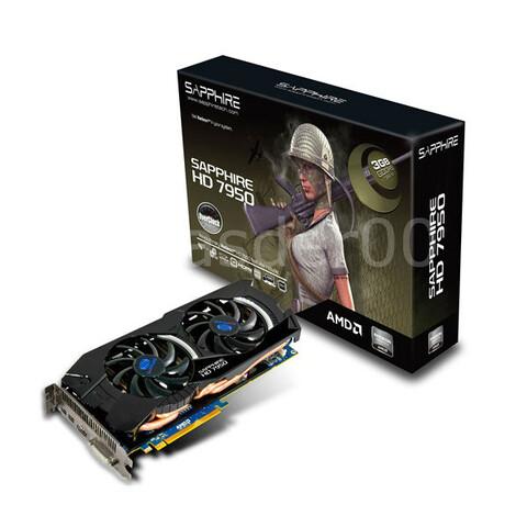 Sapphire HD 7950 3 GB (OC)
