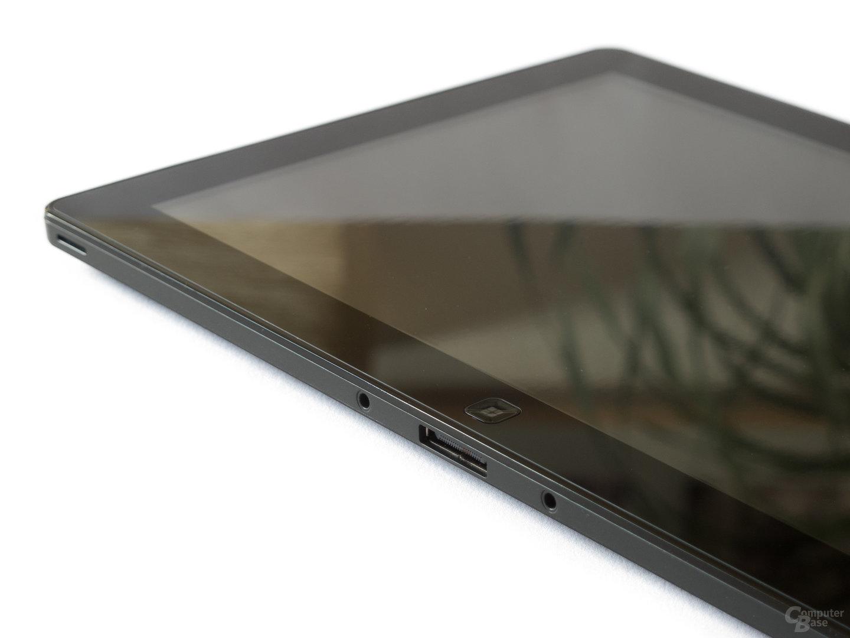 Samsung Serie 7 Slate: Anschluss für Dockingstation