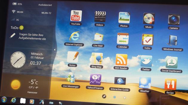 Samsung Serie 7 Slate im Test: Windows 7 mit Touch vereint
