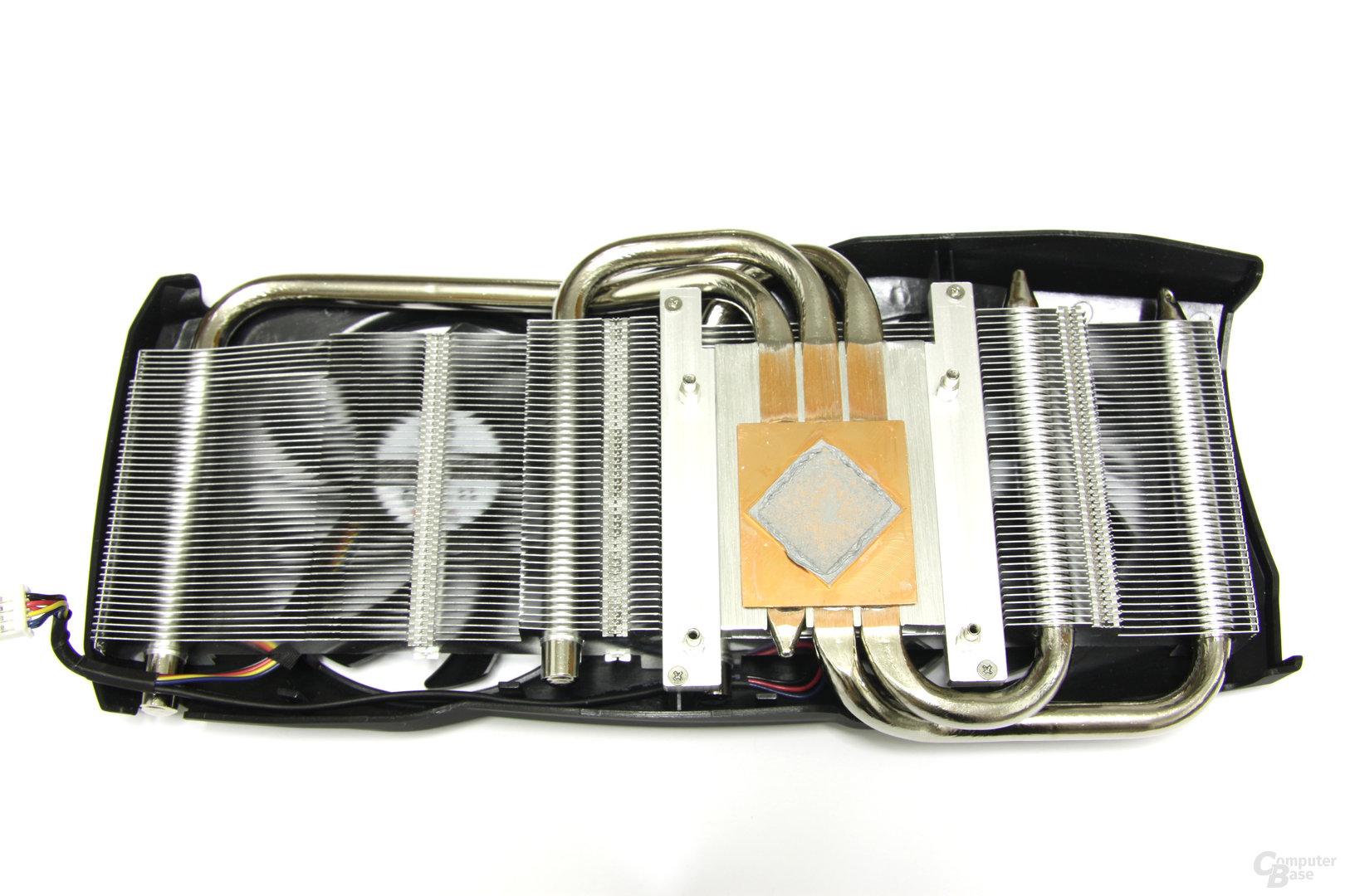 Radeon HD 7950 PCS+ Kühlerrückseite