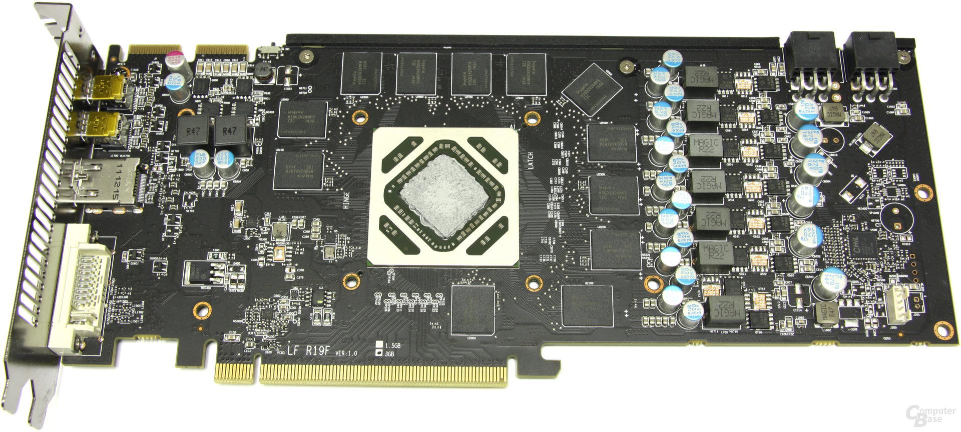 Radeon HD 7950 PCS+ ohne Lüfter
