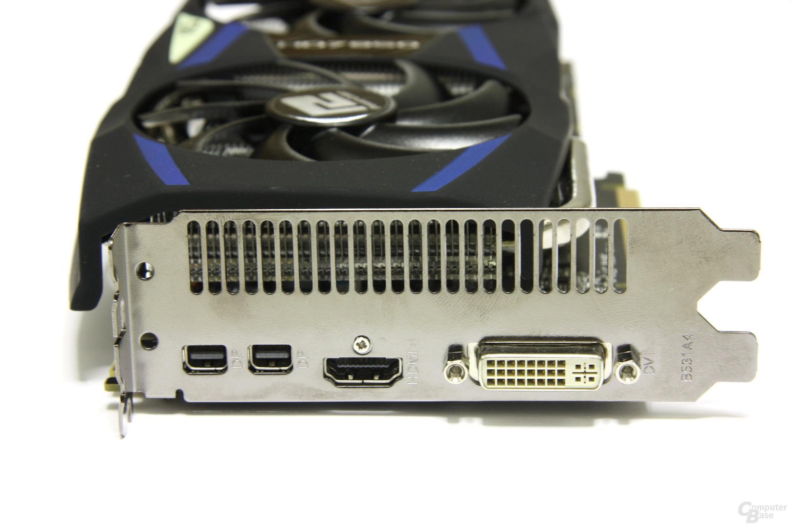 Radeon HD 7950 PCS+ Slotblech