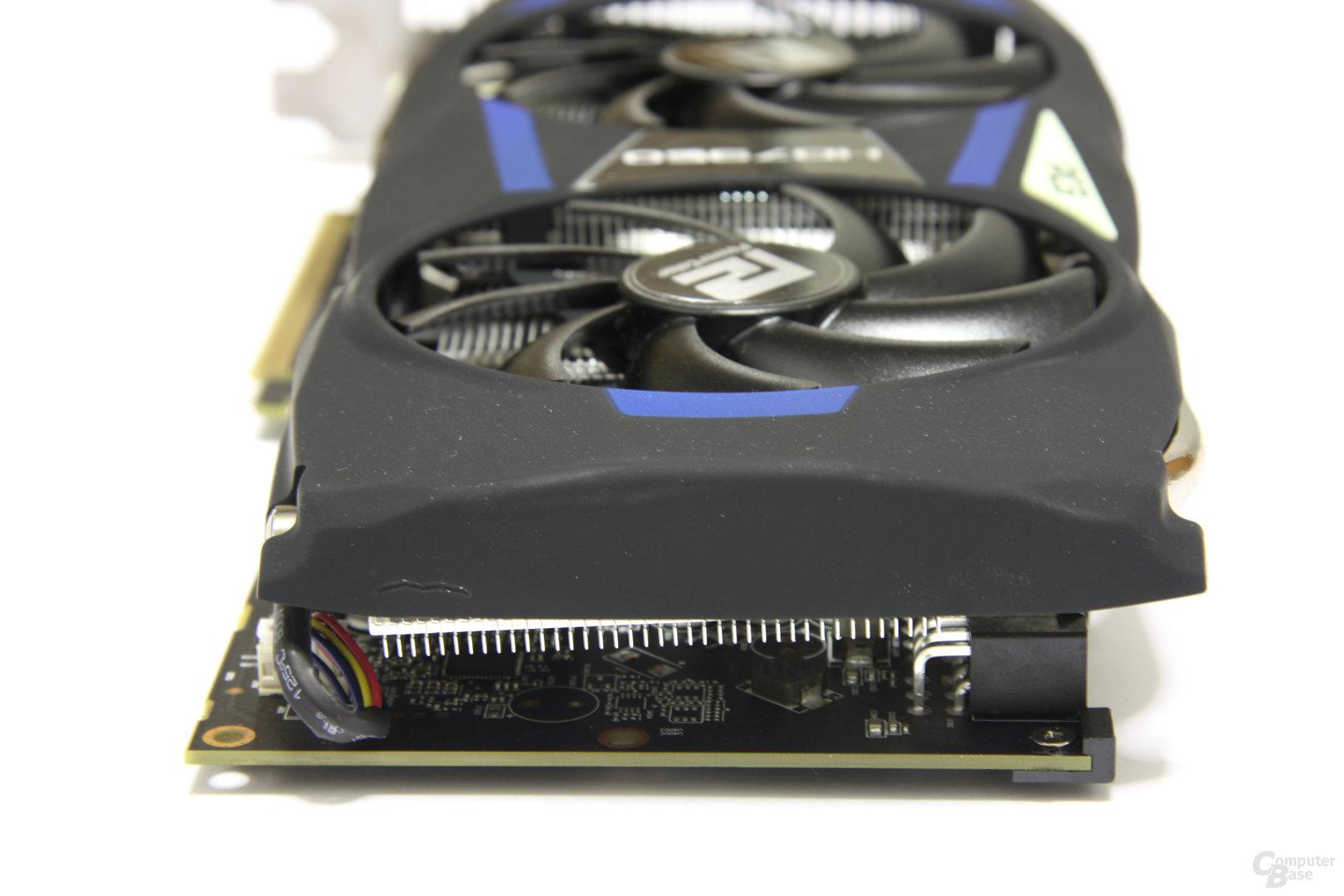 Radeon HD 7950 PCS+ von hinten