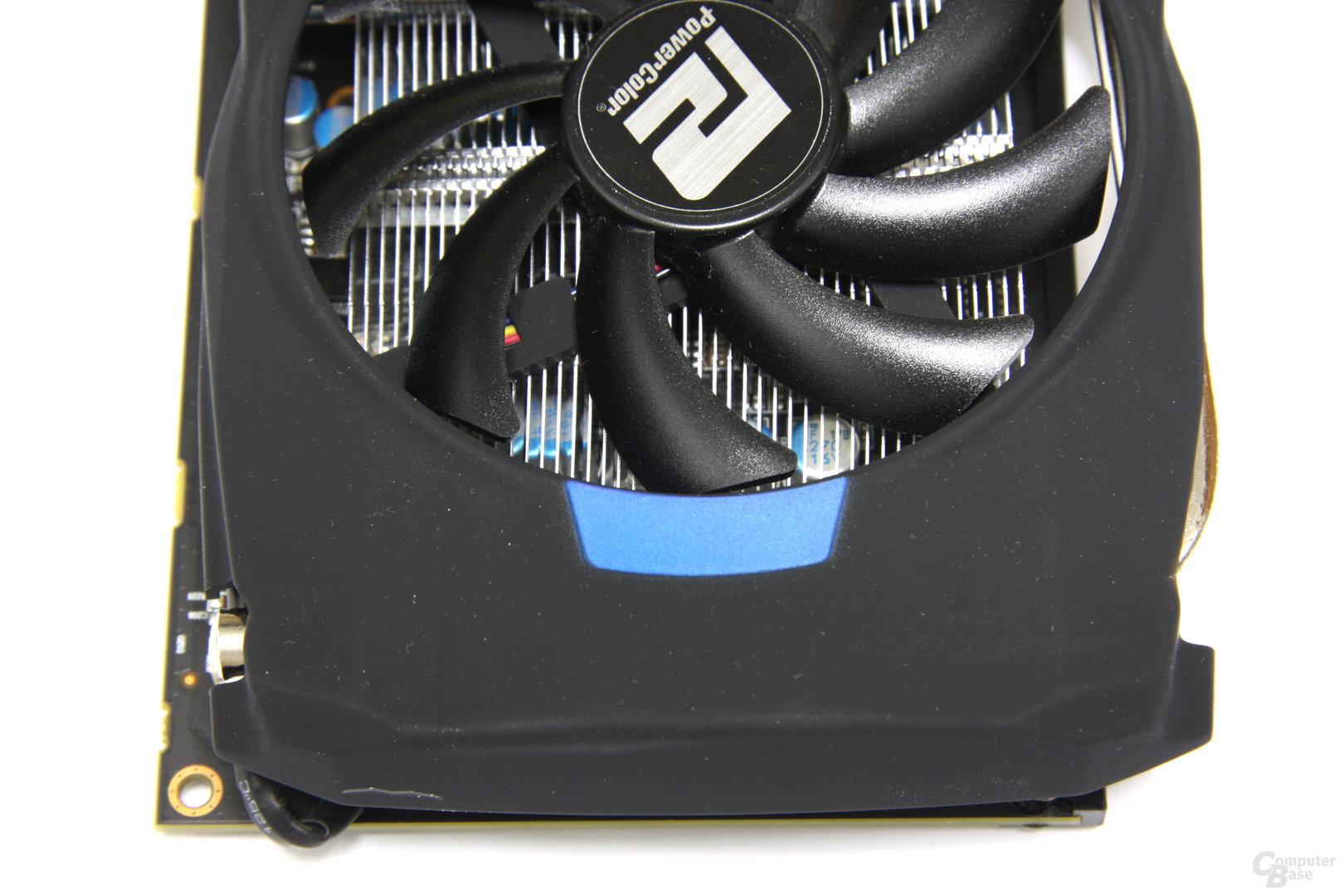 Radeon HD 7950 PCS+ von oben