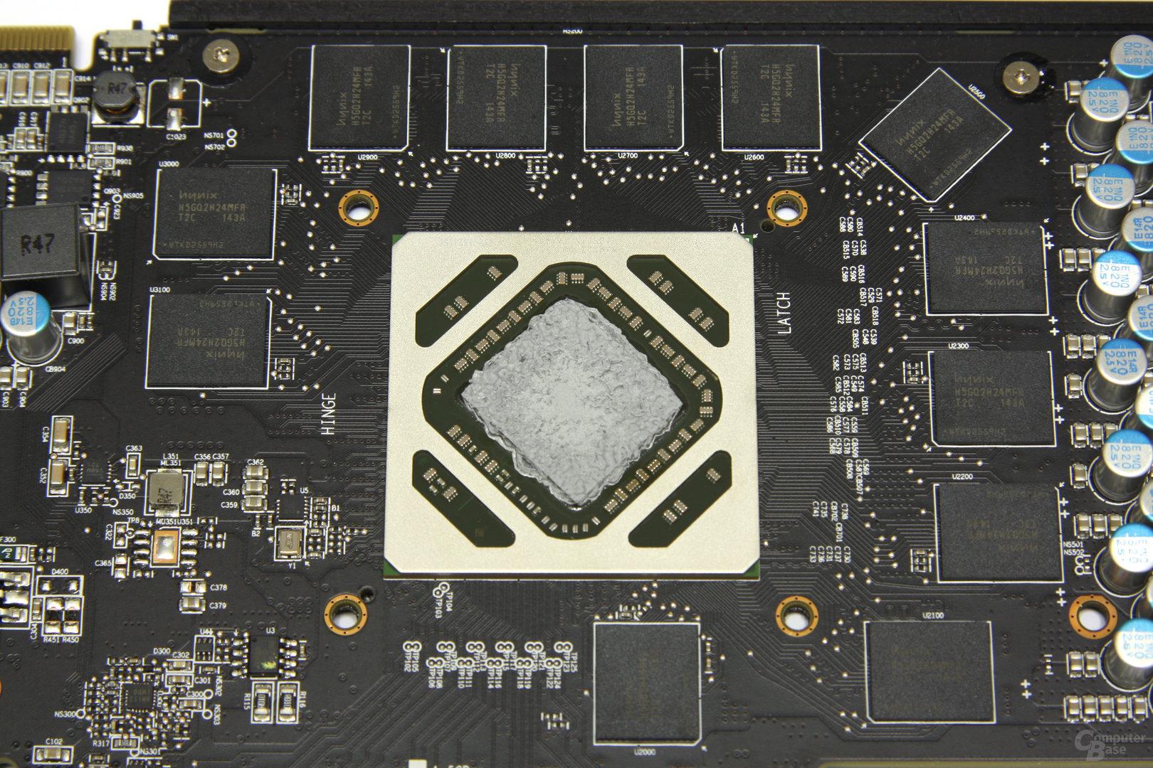 Radeon HD 7950 PCS+ GPU und Speicher