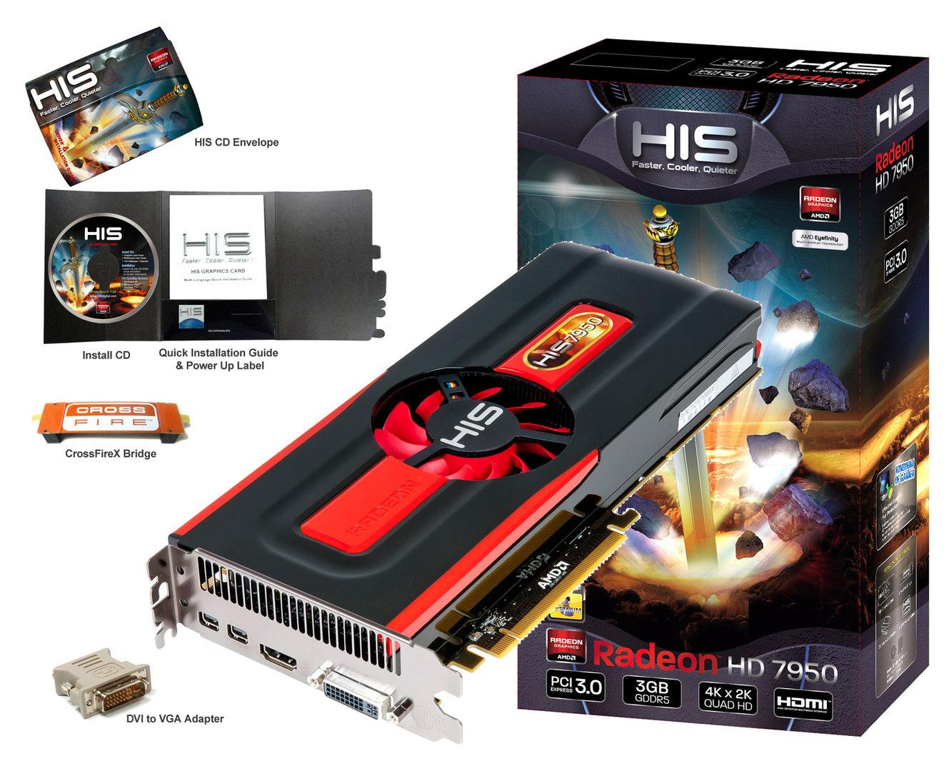 HIS HD 7950
