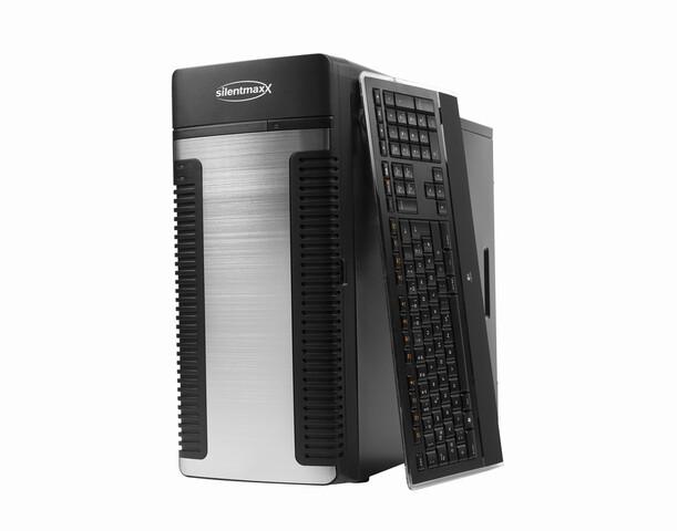 silentmaxx 0-Dezibel-PC (Tastatur nicht im Gewinn enthalten)