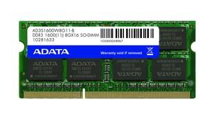 Adata 8 GB DDR3-1600 SO-DIMM