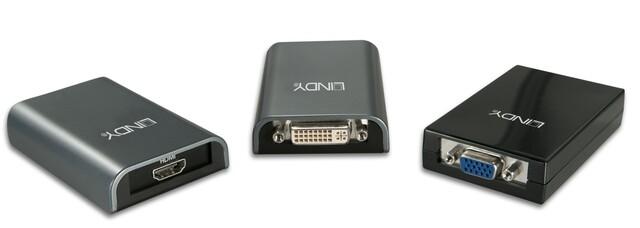 USB-Grafikkarten von Lindy