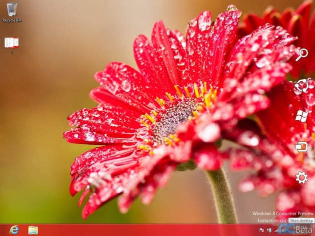 Screenshots der Windows 8 Consumer Preview