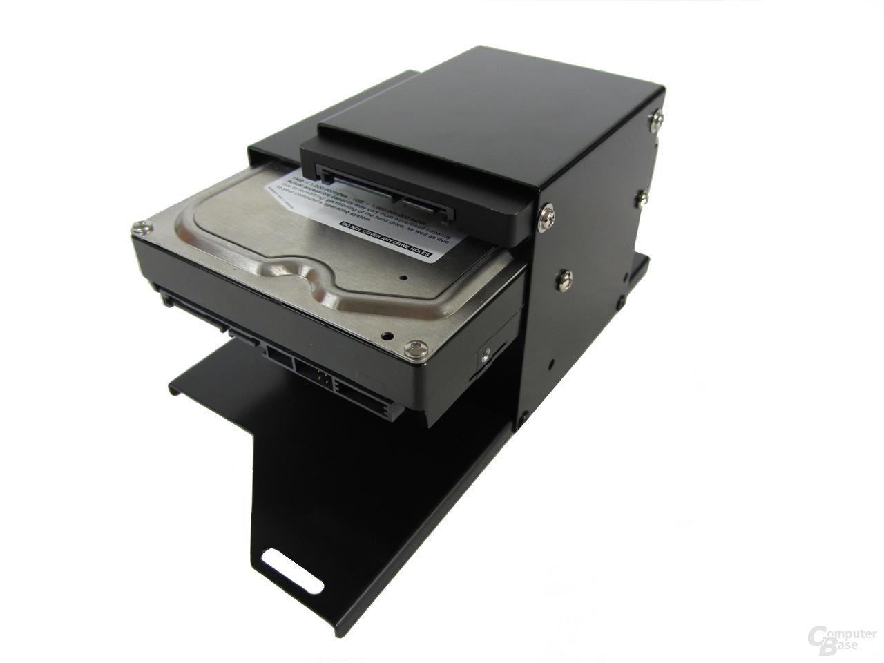 Abee DX4 – unterer Festplattenkäfig