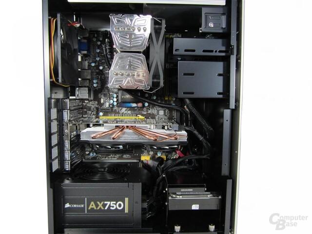 Abee DX4 – Innenraum mit Hardware