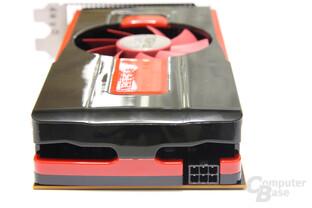 Radeon HD 7770 von hinten