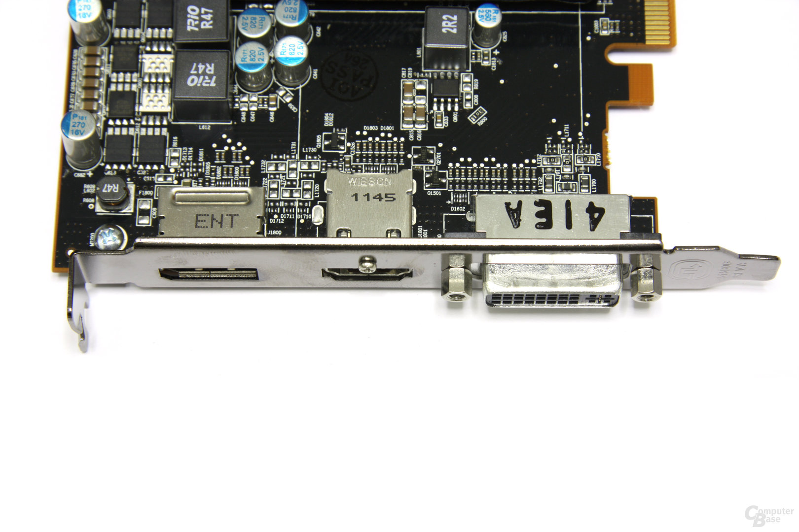 Radeon HD 7750 Anschlüsse