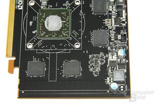 Radeon HD 7750 Bauteile 2
