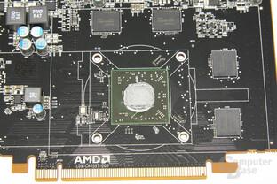 Radeon HD 7750 GPU und Speicher