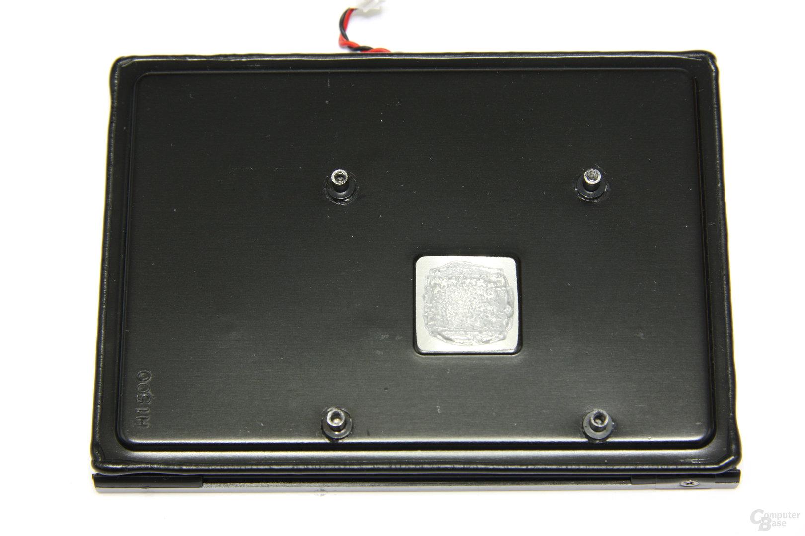 Radeon HD 7750 Kühlerrückseite